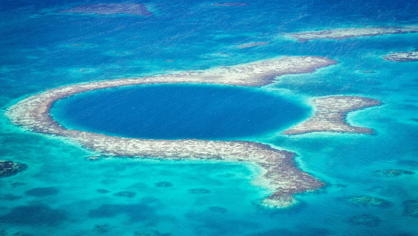 Great Blue Hole - Belize, Central America