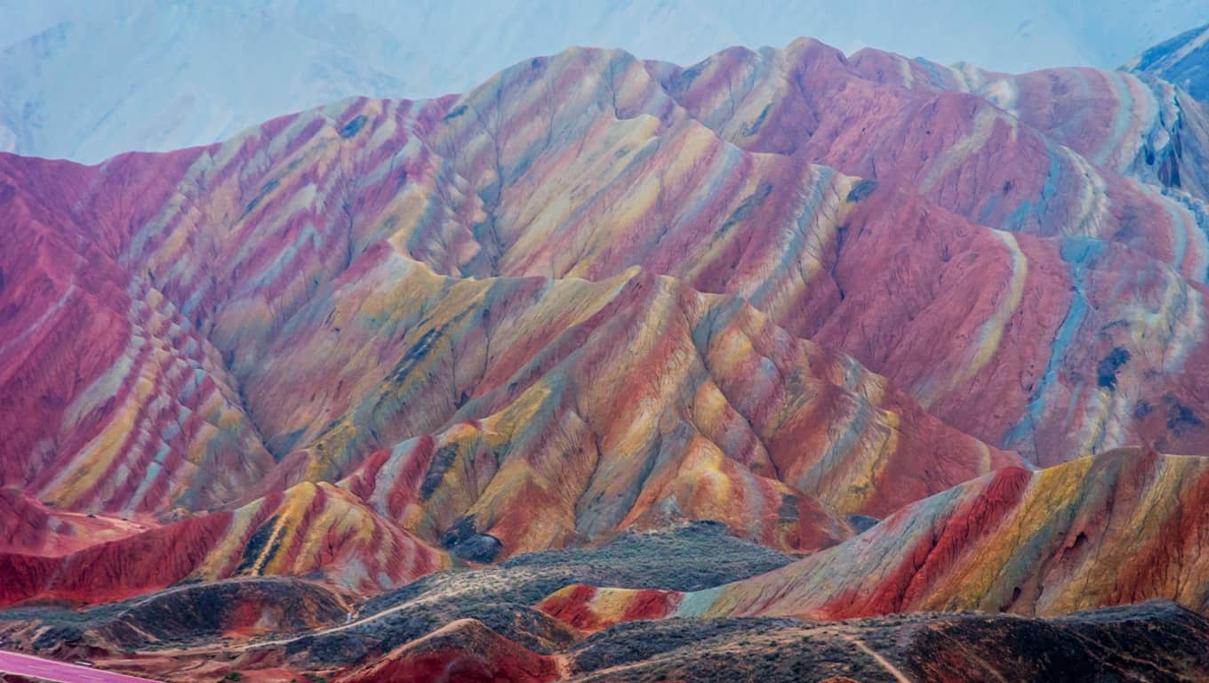 Zhangye National Geopark - Zhangye, China