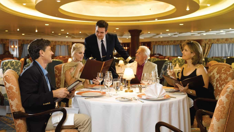 Oceania Cruises Gourmet Dining
